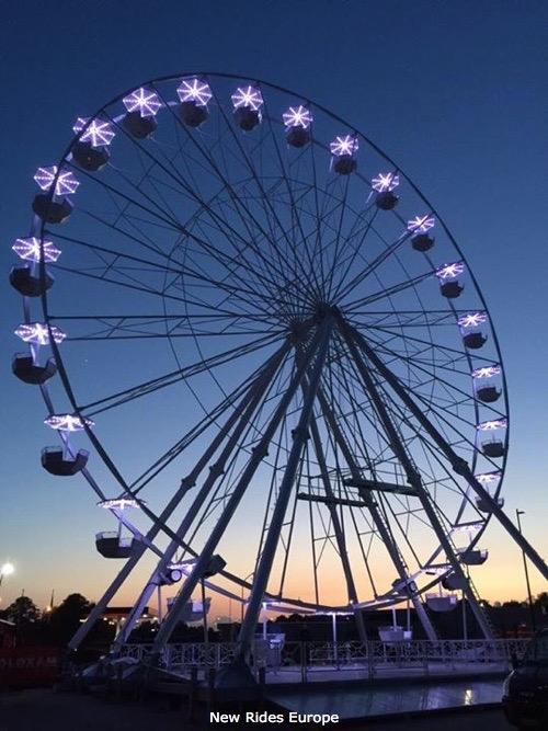 Used ride RL33 Ferris Wheel (Lamberink BV)