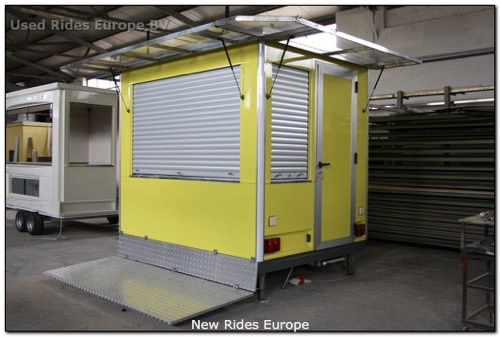 Used ride Operator booth trailer (ACO)