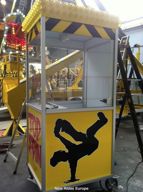 Used ride Small booth (ACO)