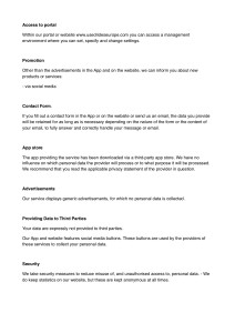 Privacy Policy Statement AVG : GDPR_2