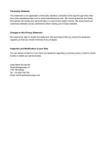 Privacy Policy Statement AVG : GDPR_3