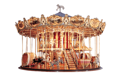 Used ride Double Storey Carousel 10 meter (Concept 1900)
