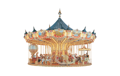 Used ride Carousel 10 meter (Concept 1900)