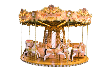 Used ride Carousel 4 meter (Concept 1900)
