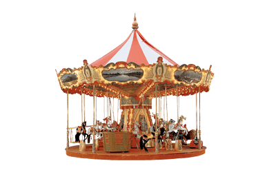 Used ride Carousel 6 meter (Concept 1900)