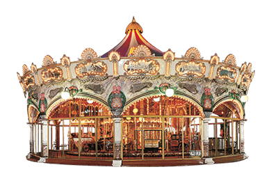 Used ride Carousel 17 meter (Concept 1900)