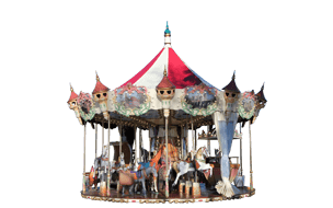 Used ride Carousel 7 meter (Concept 1900)